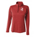 Inspire space dye quarter zip - women